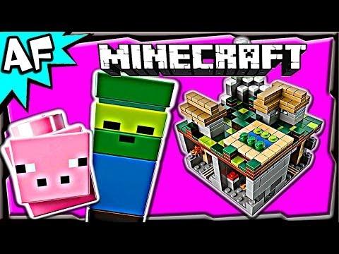 Vidéo LEGO Minecraft 21105 : Micro monde - Le village