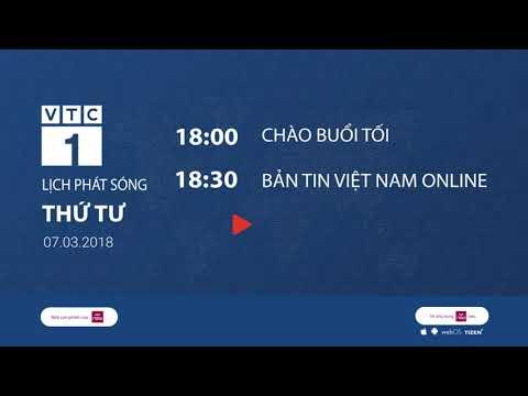 Lịch phát sóng kênh VTC1 ngày 7/3/2018 | VTC1 - Thời lượng: 110 giây.