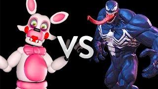 Five Nights at Freddy's animatronics Freddy Fazbear, Mangle , Bonnie the Bunny and Foxy the Pirate vs Venom left 4 dead 2 mod