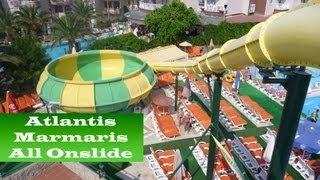 Marmaris Turkey  City new picture : All Onslides Atlantis Waterpark Marmaris Turkey