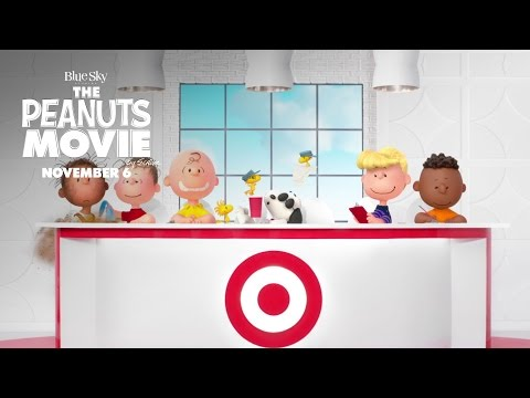 Target Commercial for The Peanuts Movie (2015 - 2016) (Television Commercial)