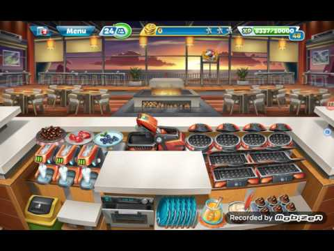 Cooking Fever Automatic Cooking Machine Purchase :  Sunset Waffles