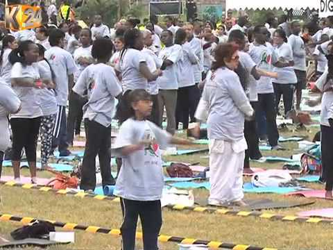 Yoga International Day Has Been Billed As One To Promote Harmony And Peace