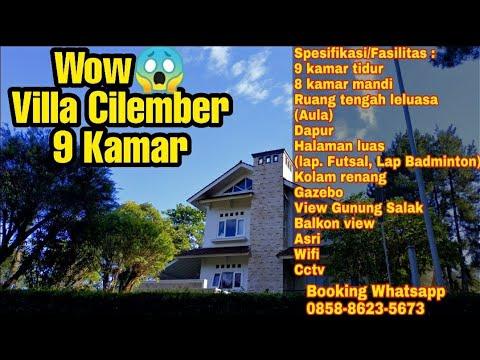 Villa Cilember 9 Kamar yg Mevvah 😱 | Villa Cisarua | Villa Puncak
