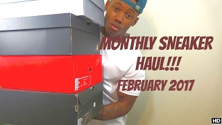 IN THIS VIDEO I WILL BE SHOWING YOU GUYS ALL THE SNEAKERS I PICKED UP FOR THE MONTH OF FEBRUARY!! PLEASE LIKE!! COMMENT!! SUBSCRIBE!! _______________________...