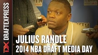 2014 Julius Randle Interview - DraftExpress - NBA Draft Media Day