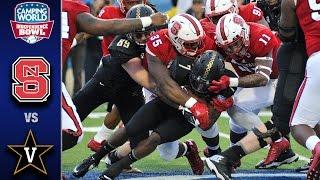 NC State vs Vanderbilt Independence Bowl Highlights (2016)