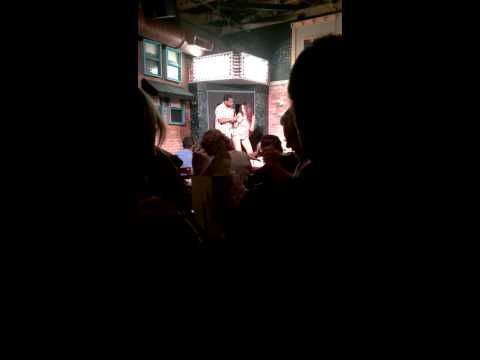 8.18.13 Laughs unlimited Drunk Gal onstage