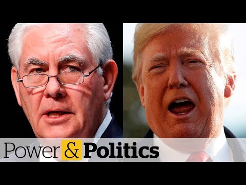 Trump calls Tillerson 'dumb as a rock' | Power & Politics