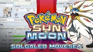 Solgaleo Moveset Guide! How to use Solgaleo! Pokemon Sun and Moon! by PokeaimMD