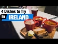 Irish Food Tour - 4 Dishes to Try in Ireland! (Americans try Irish Food)