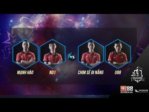 AOE | STAR LEAGUE 2017 Vòng 3 CSĐN - U98 vs No1 - Mạnh Hào  Ngày 19 11 2017. BLV : G_Man.