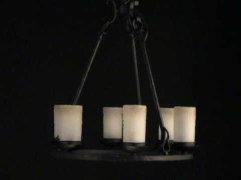 Video for Notre Dame Oil Rubbed Bronze Eight-Light Chandelier