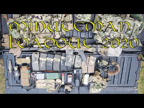 Minuteman Loadout Bag - 2020 edition