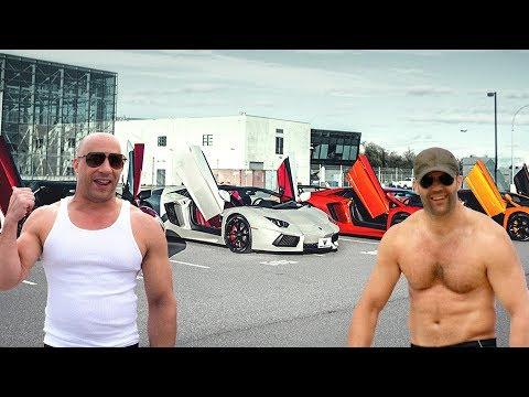 Jason Statham's Cars VS Vin Diesel's Cars ★ 2018