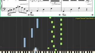 Таривердиев - Снег над Ленинградом (Ноты и Видеоурок для фортепиано) (piano tutorial)
