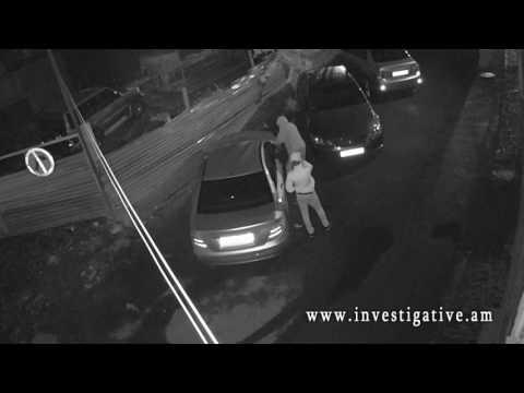 Տեսախցիկներն արձանագրել են ավտոմեքենայի հայելին գողանալու դրվագը (տեսանյութ)