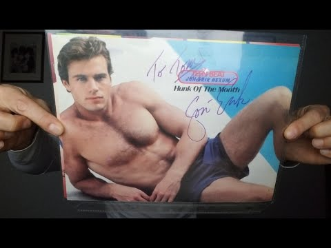 """Autograph Collecting - Jon-Erik Hexum """"The Voyagers"""" - Hollywood Tragedy"""