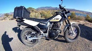 2. Yamaha TW200 Dual Sport Review