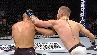 Pięknie go znokautował! Conor McGregor vs. Eddie Alvarez w walce wieczoru UFC 205!
