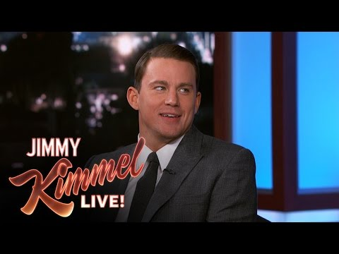 CHANNING TATUM - Channing reveals what it's like to work with director Quentin Tarantino. SUBSCRIBE to get the latest #KIMMEL: http://bit.ly/JKLSubscribe Watch the latest Halloween Candy Prank: http://bit.ly/Ki...