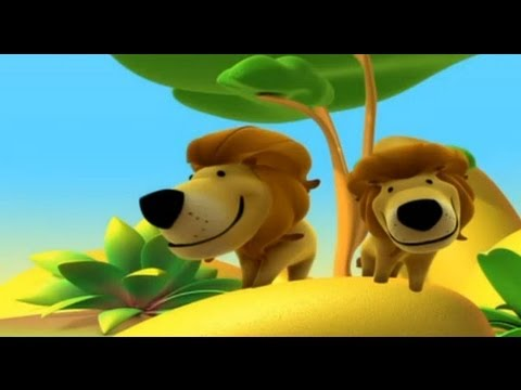 The Lion, Alex in the Jungle – Cartoon to Learn about animals, for children