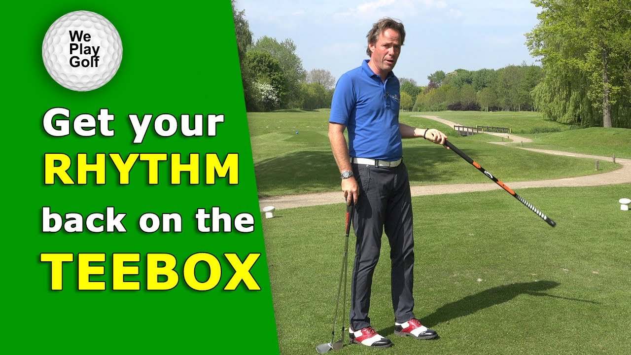 How to get your rhythm back on the teebox after a long wait?