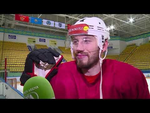 Форвард ХК «Рубин» Владимир Коротков перед третьим матчем финальной серии плей-офф