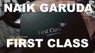 Video TRAVEL - VLOG.Terbang Bersama Garuda First Class!!! MP3, 3GP, MP4, WEBM, AVI, FLV Juli 2018