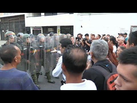 Συγκρούσεις στη Βενεζουέλα