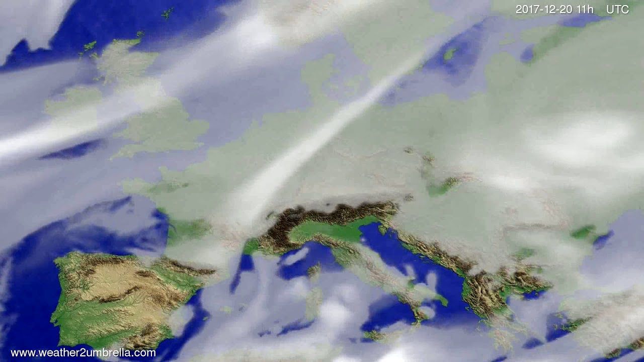 Cloud forecast Europe 2017-12-17