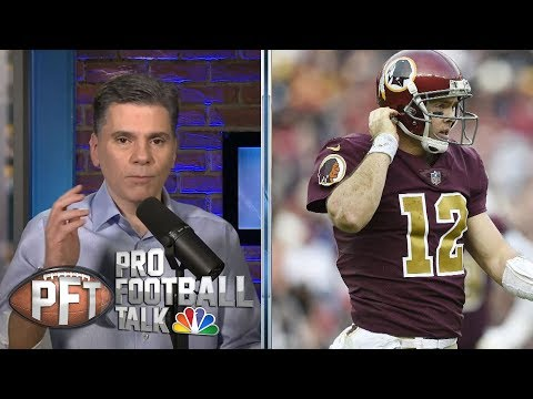Video: What will Washington Redskins do at QB in 2019? | Pro Football Talk | NBC Sports