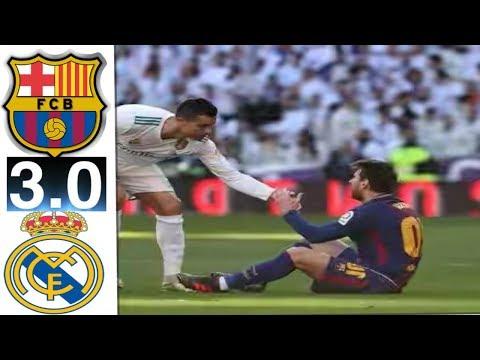 Real Madrid vs Barcelona 0 3   All Goals & Highlights  HD 23/12/2017 La liga