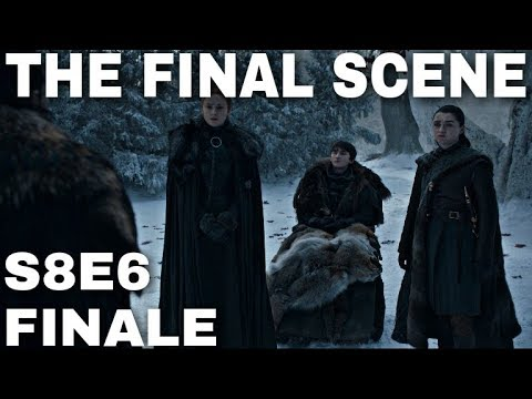 The Final Scene in Game of Thrones? - Game of Thrones Season 8 Episode 6 Finale