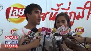 Nadech And Yaya Interview Lay's Activity At SOS Children's Villages Thailand 22/6/13