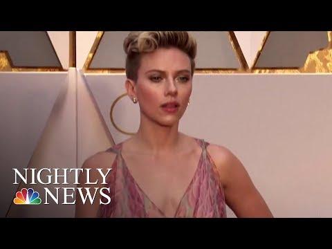 Scarlett Johansson Says She Will Not Play Transgender Man After Backlash | NBC Nightly News