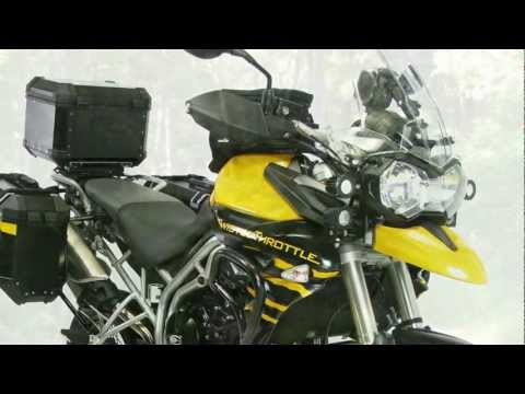 Twisted Throttle Triumph Tiger 800 Demo Bike