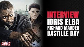 Interview Idris Elba & Richard Madden - Bastille Day