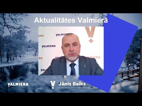 Aktualitātes Valmieras pilsētā 2020/2021