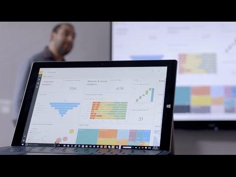 Meet the Power BI Windows 10 universal app