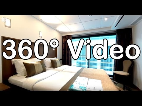 360 Grad Video: Kabine 301, Kat. G - MS Amelia