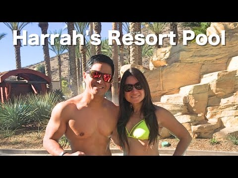 Harrah's Resort Southern California Pool - RELAXATION!