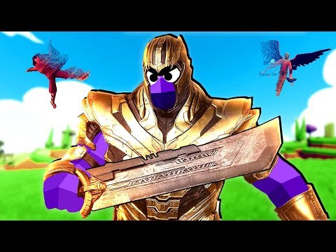 TABS - Custom Unit Thanos Can't be Defeated! - Totally Accurate Battle Simulator