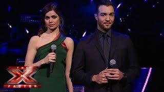 النتائج التصويت - العروض المباشرة - الأسبوع 4 - The X Factor 2013
