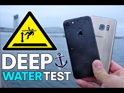 IPhone 7 Vs Samsung Galaxy S7 Water Test