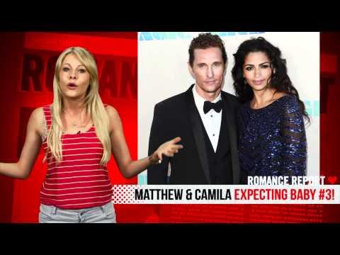 Matthew McConaughey and Camila Alves Expecting Baby #3!