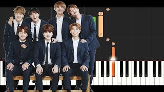 Video BTS - GO GO (Piano Tutorial Instrumental) MP3, 3GP, MP4, WEBM, AVI, FLV April 2018