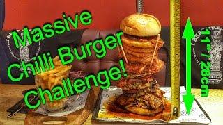 Massive Chilli Burger Challange!!
