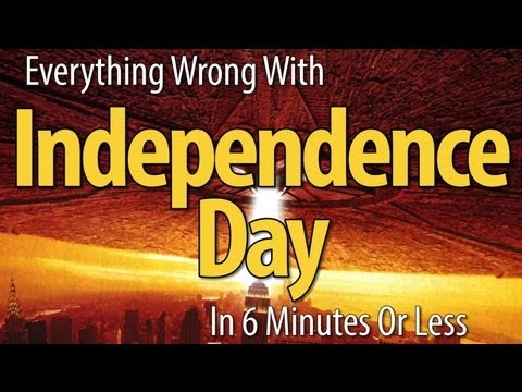 Independence Day - In special celebration of the approaching American 4th of July holiday, we bring you all the sins we could find in the 1990's action classic, Independence Da...