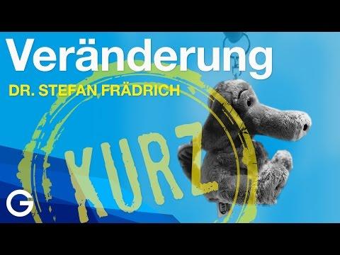 veränderung - Live-Ausschnitt eines Vortrags von Dr. Stefan Frädrich bei der 1. GEDANKENtanken-Glücksnacht // April 2014 // Köln.